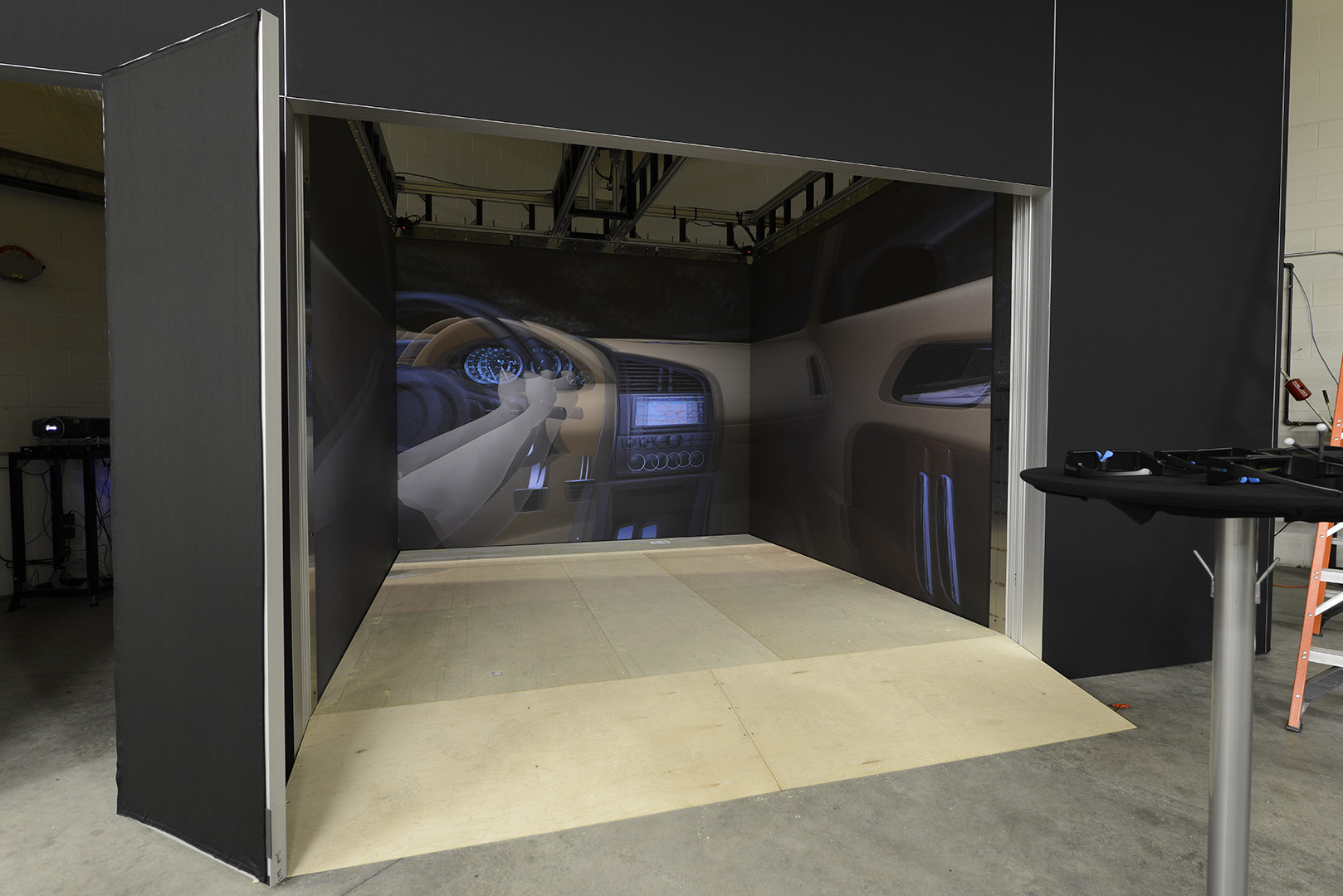 Automotive rendering IGI cave virtual reality