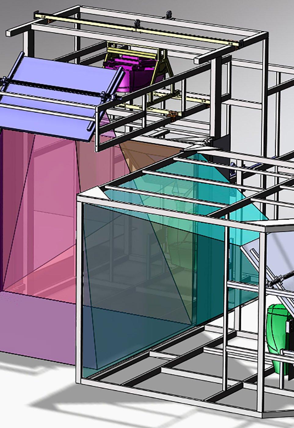 IGI custom design 3D projection CAVE rendering