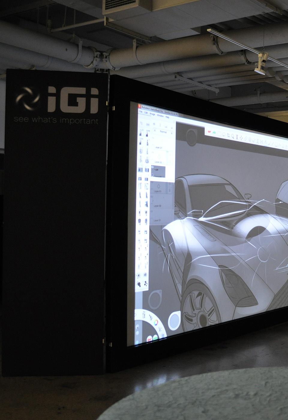 Automotive design on IGI PowerWindow