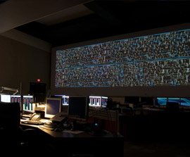 IGI custom command and control room 4K projection