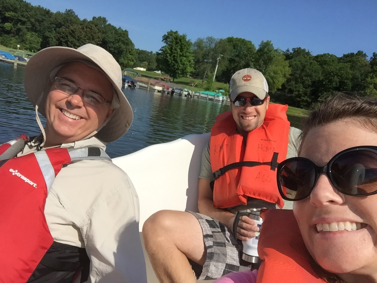 IGI team boating Kensington Metropark