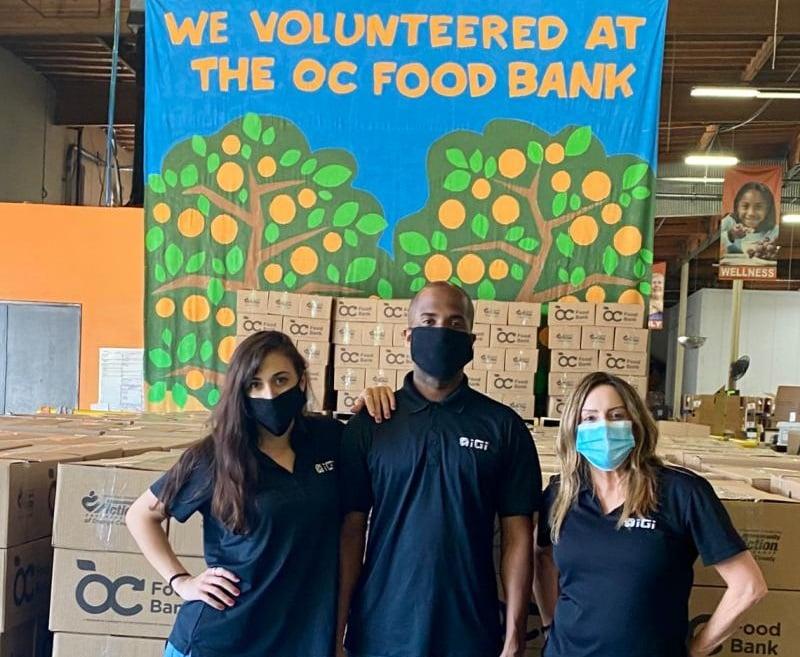 IGI-volunteers-local-food-bank-california-careers