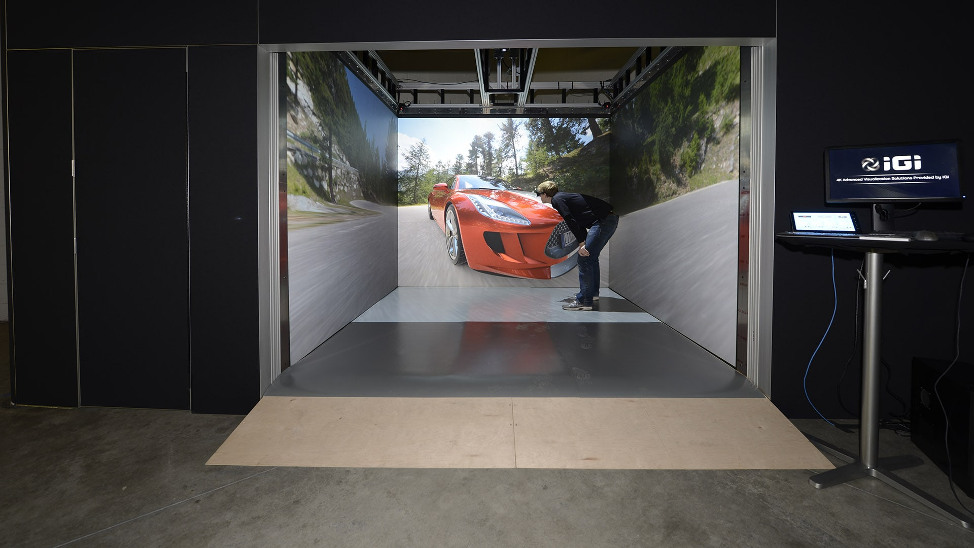 IGI HD CAVE automotive rendering 3D virtual reality