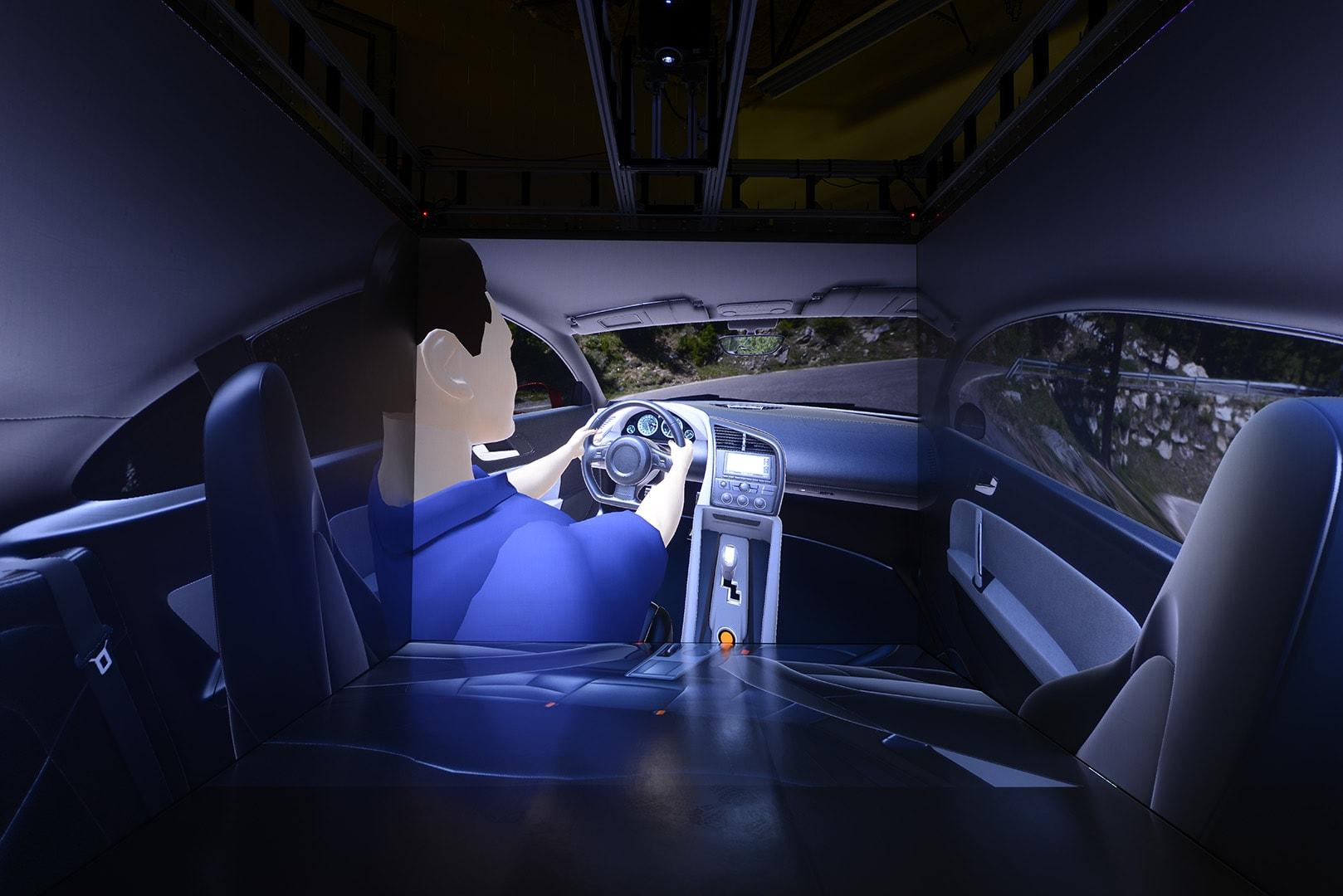 HD IGI CAVE visualization automotive simulation rendering
