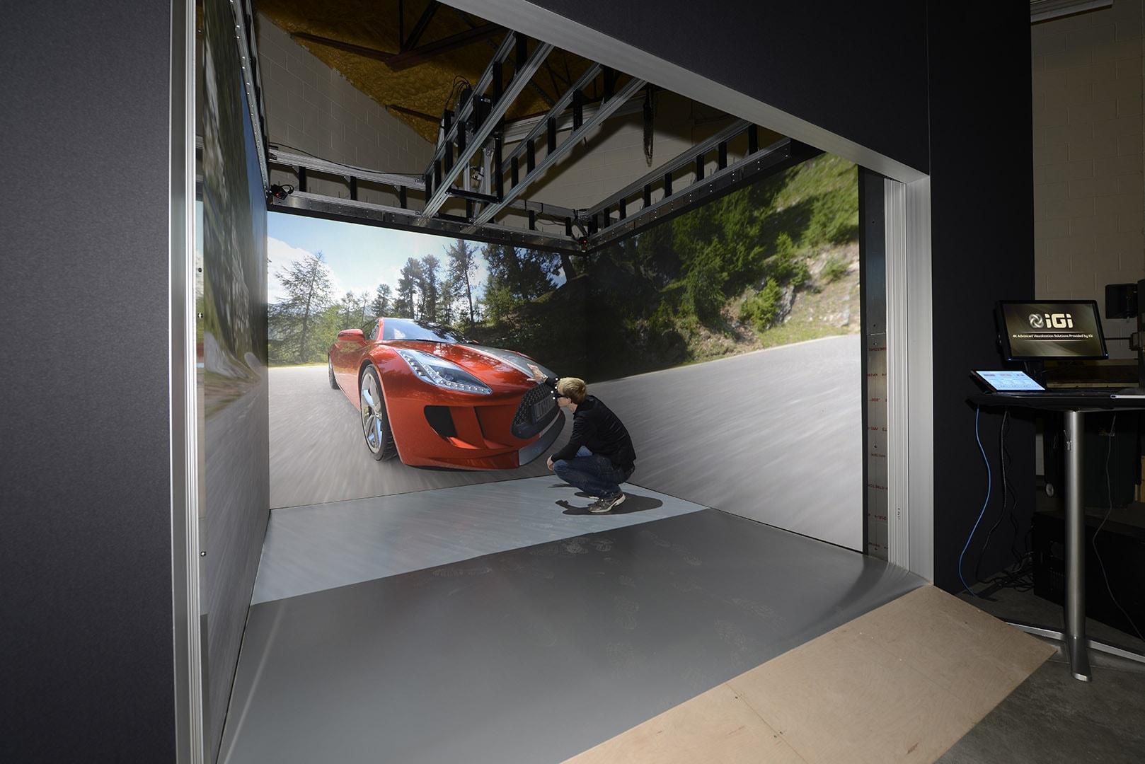 VR Room virtual reality system