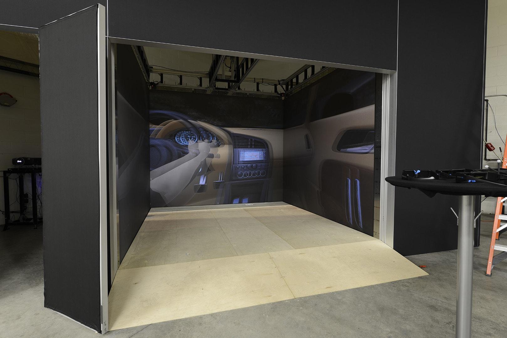 Automotive rendering IGI cave virtual reality