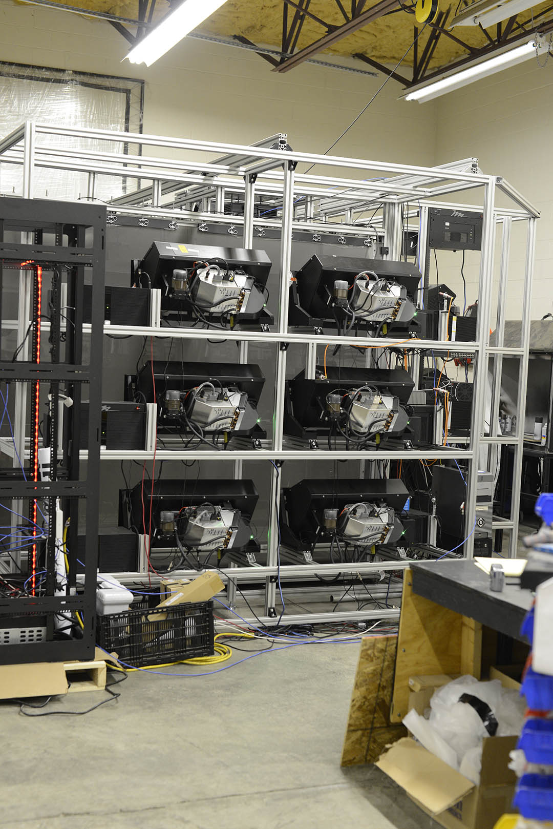 IGI HD CAVE custom design system fabrication