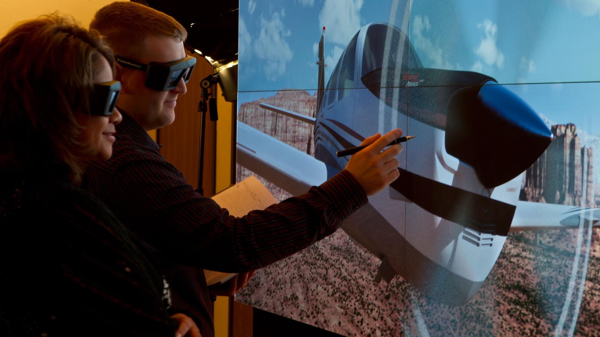 IGI 4K forum stereo glasses aerospace virtual reality