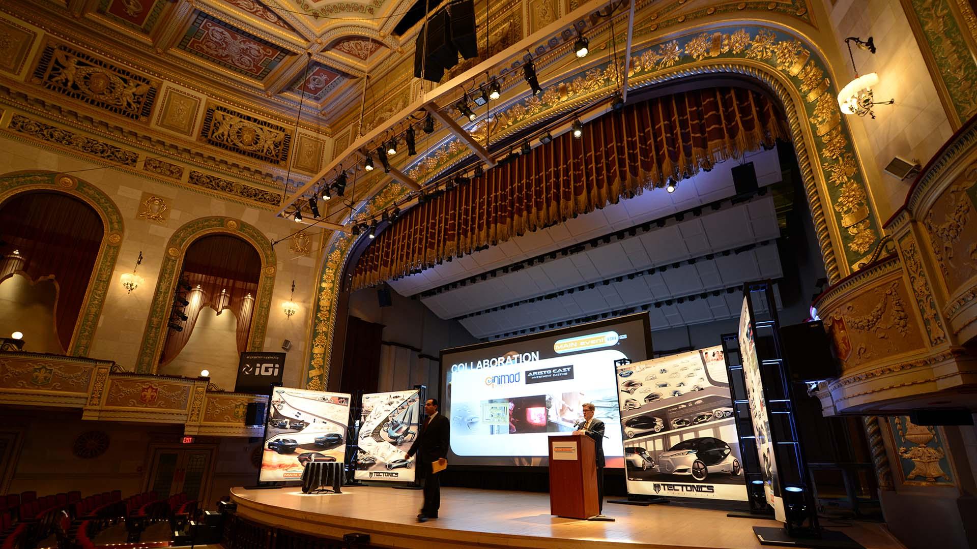IGI presentation MAIN event automotive designer awards