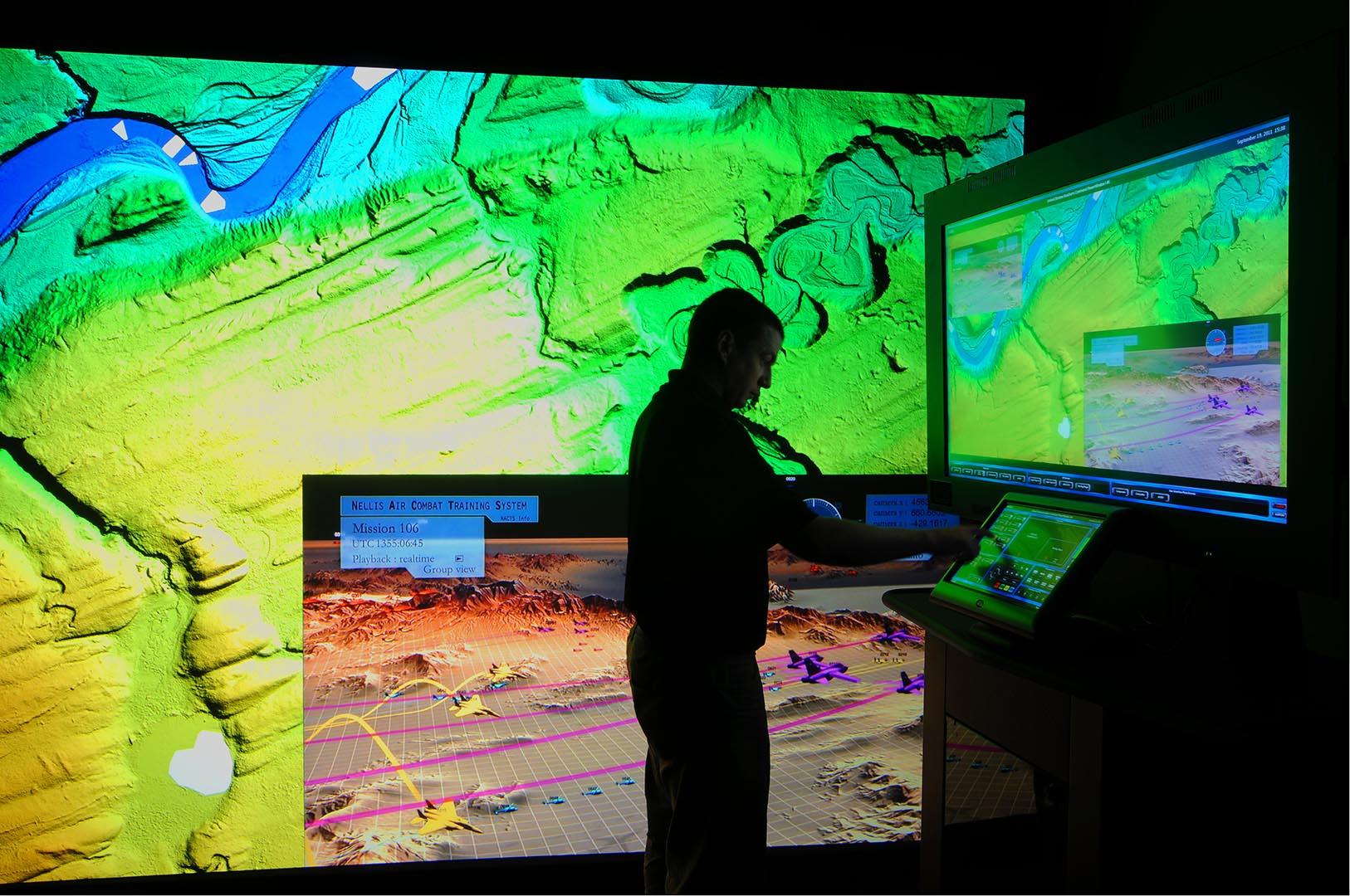 air force combat AV training system virtual reality