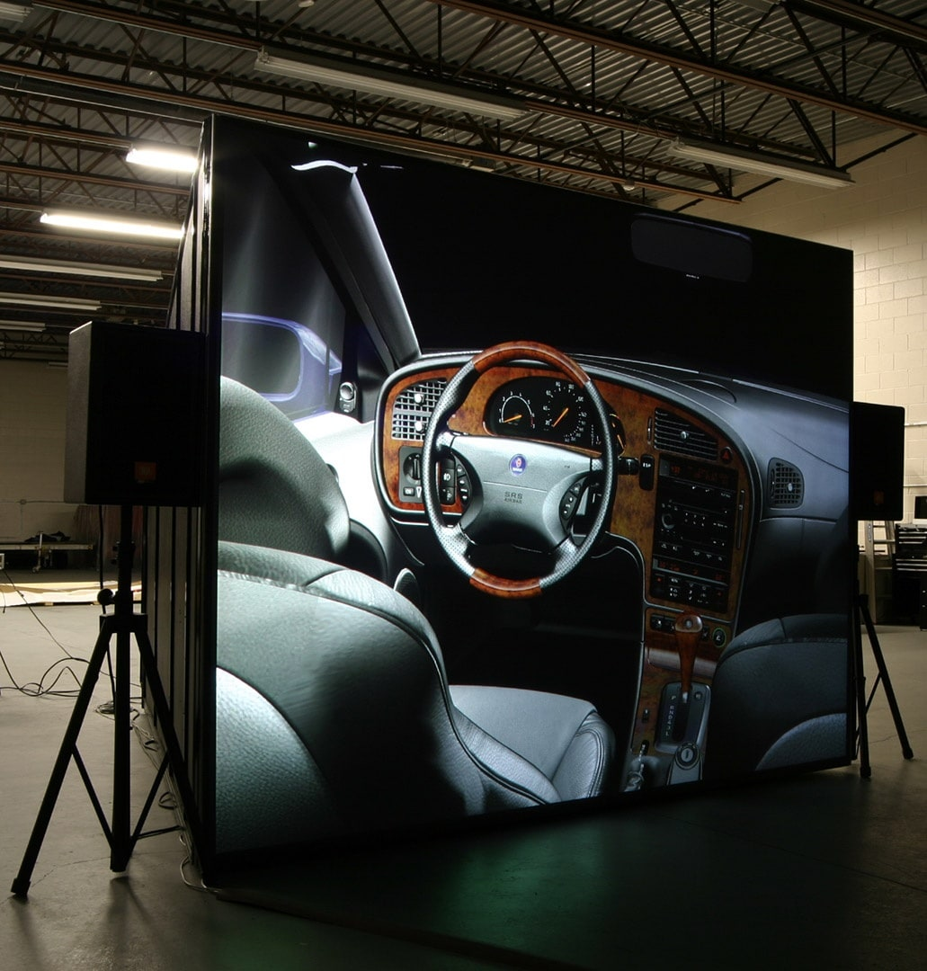 IGI powerwindow high definition 4K projection auto interior