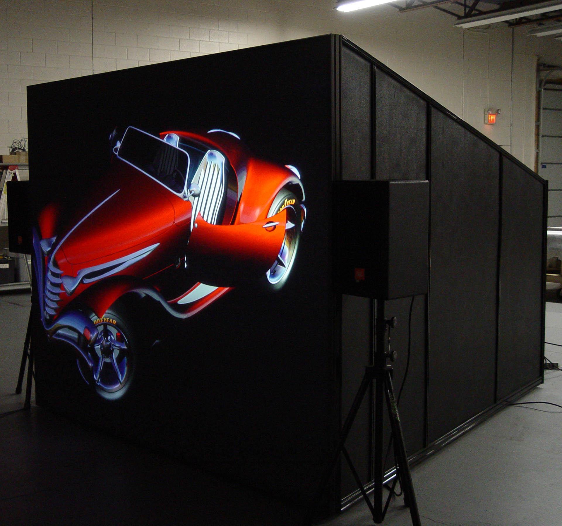IGI powerwindow high definition 4K projection vintage auto