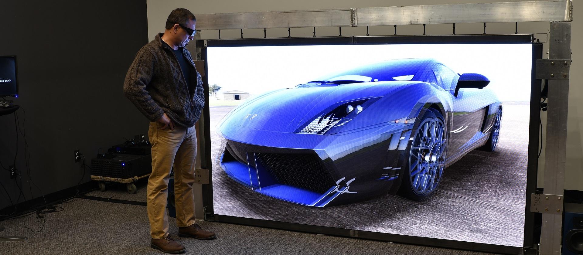 IGI 4K Forum demo of HD Sony Canvas AV technology