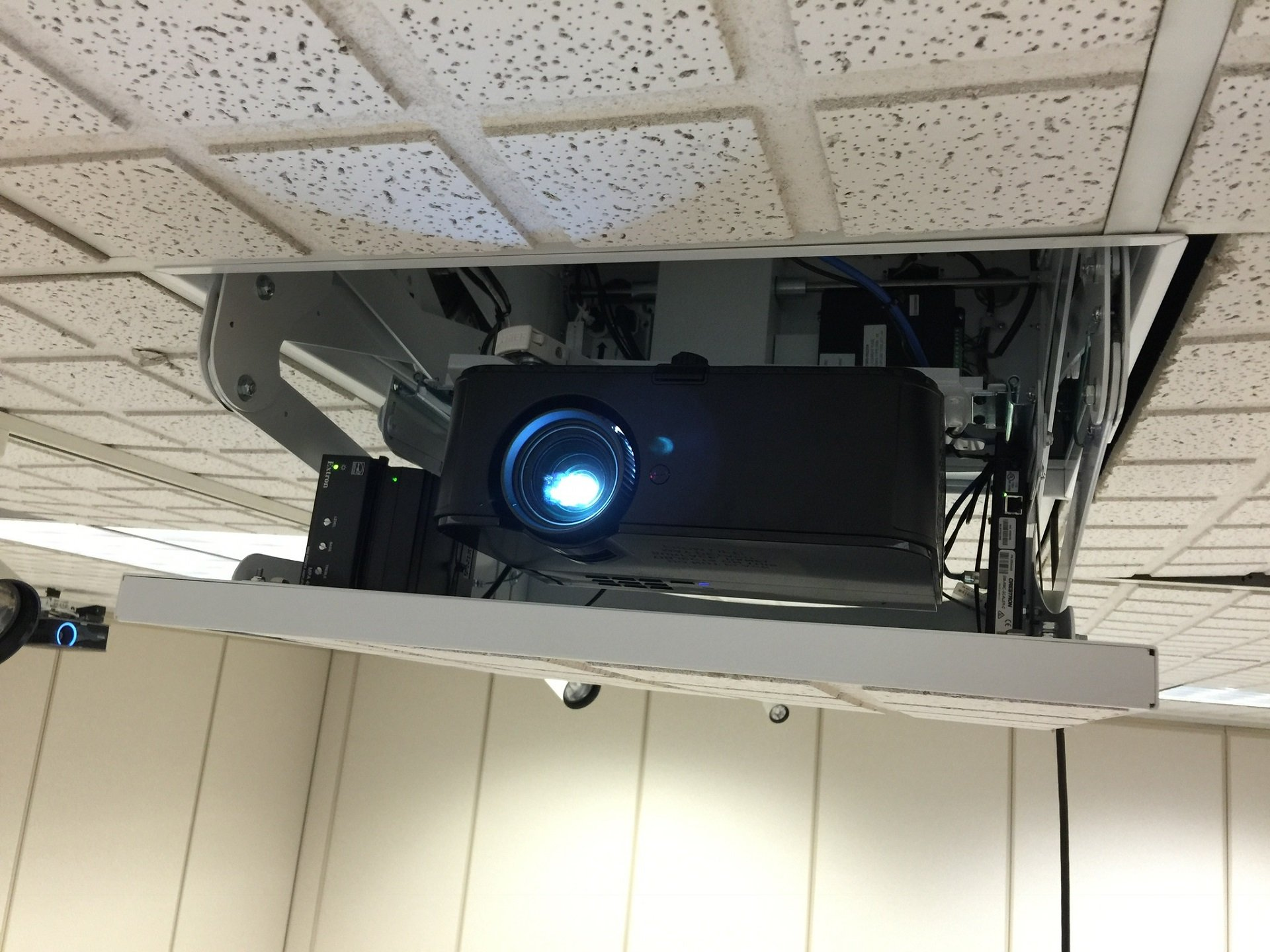 Custom commercial AV projector integration